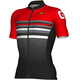 Alé Cycling Formula 1.0 Stripe Short Sleeve Jersey Men black-red
